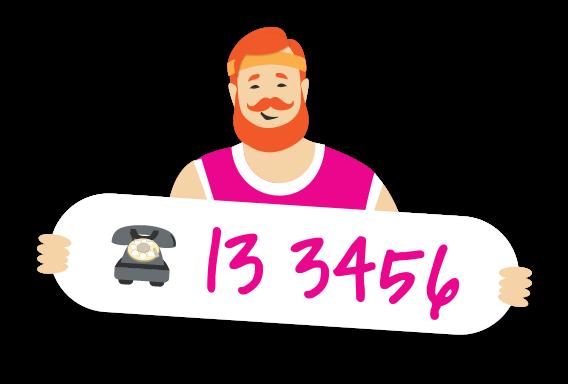 Phone 13 3456