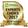 Mozo Award for Best Energy Plan - Solar Friendly Electricity (Victoria) 2017