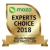 Mozo Award for Best Energy Plan - Solar Friendly Electricity (Victoria) 2018