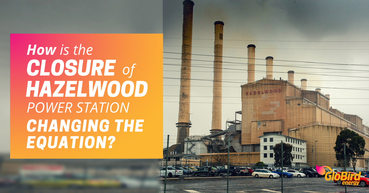 How has closing Hazelwood power station changed energy prices?