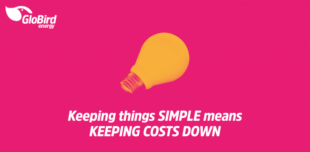Keeping things simple means keeping costs down