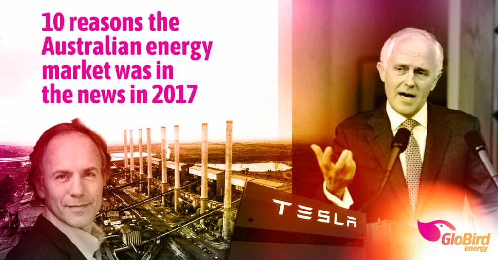 10 reasons the Australian energy market was in the news in 2017