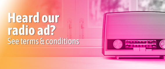 GloBird Radio Ad Terms & Conditions