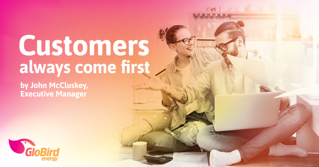 Customers always come first