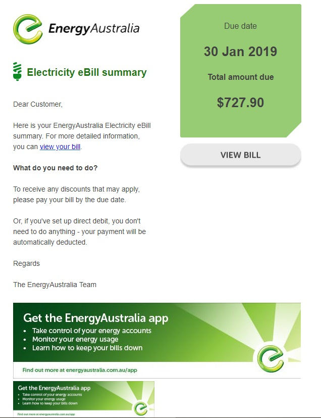 Phishing scams target energy customers – don't get caught out