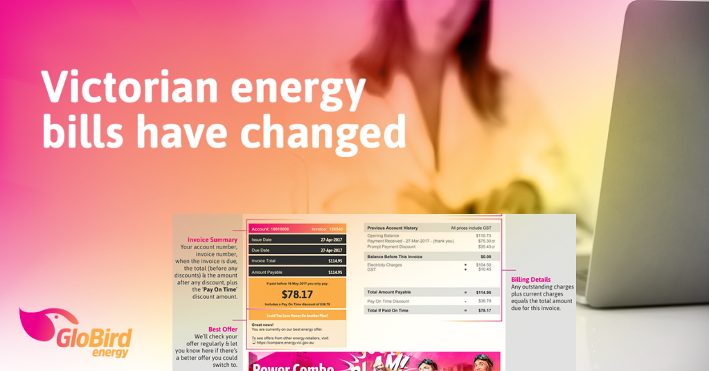 Victorian energy bills have changed