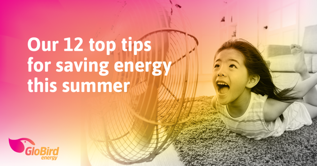 Our 12 top tips for saving energy this summer