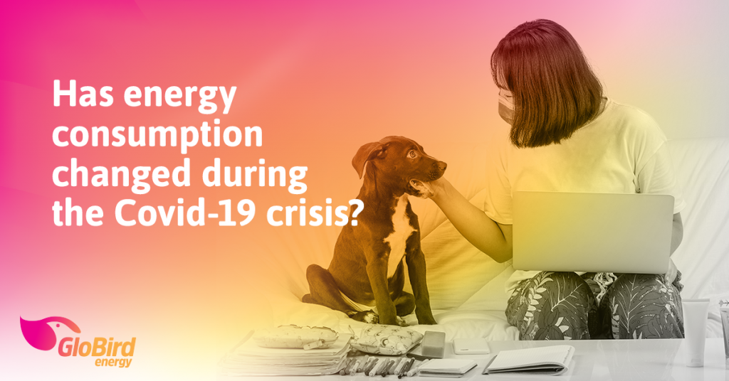 Has energy consumption changed during the Covid-19 crisis?