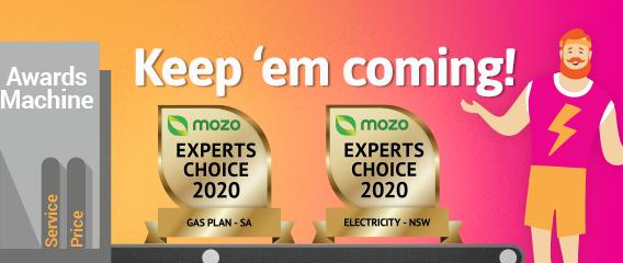 Mozo award winner 2020
