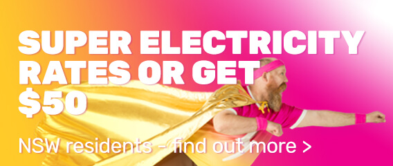 Super Electricity Rates or Get $50