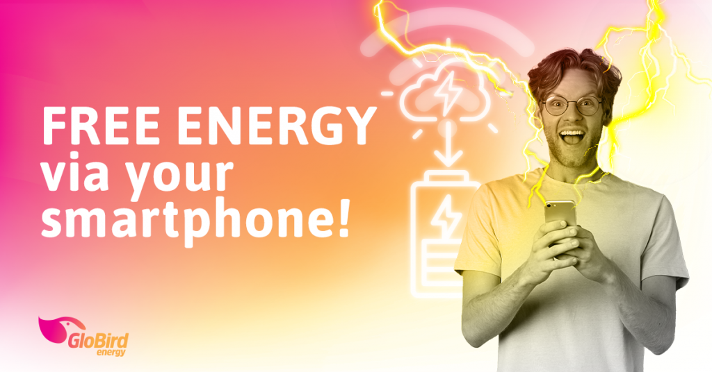 Free energy via your smartphone!