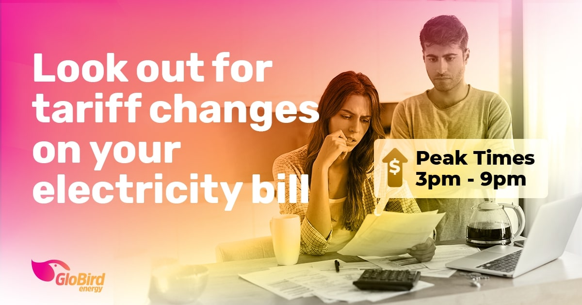 Look out for tariff changes on your electricity bill